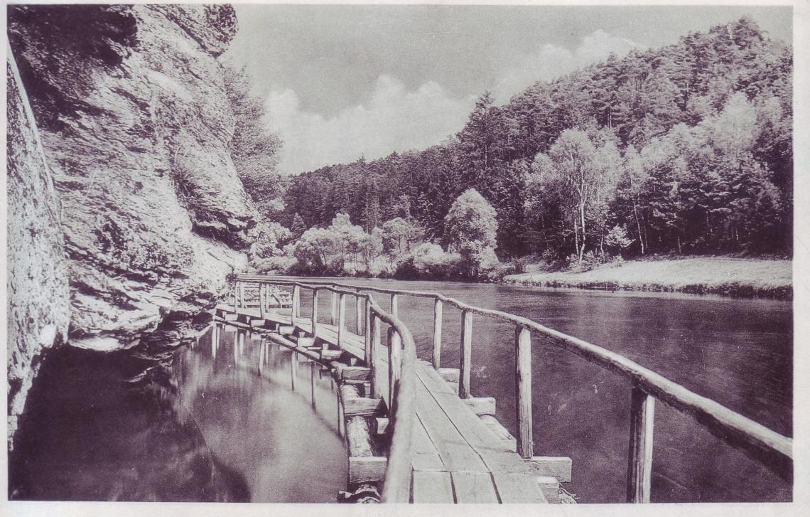 Židova strouha lávka 1942